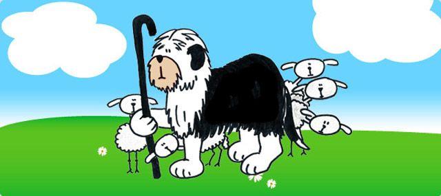 De geschiedenis van de Old English Sheepdog