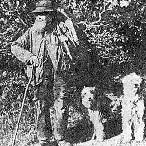 """De Engelse herder met zijn """"drovers"""""""